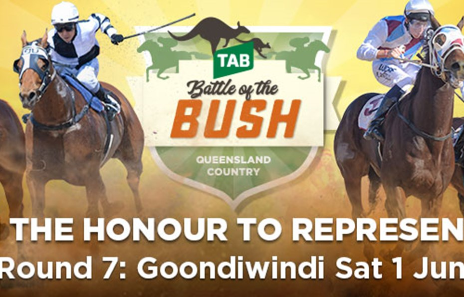 INGLEWOOD CUP & GOONDIWINDI BUSINESS OUTLETS RACE DAY  featuring  TAB BATTLE OF THE BUSH QUALIFIER - Saturday 1 June 2019